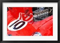 Framed 1962 Ferrari 250 GTO Engine