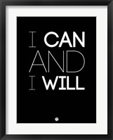 Framed I Can And I Will 1