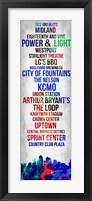 Framed Streets of Kansas 1
