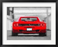 Framed Ferrari F512 Rear