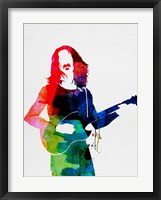 Framed Frank Watercolor