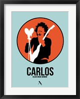 Framed Carlos
