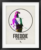 Framed Freddie Watercolor