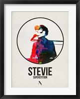 Framed Stevie Watercolor