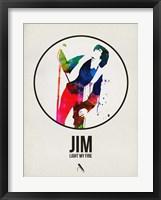 Framed Jim Watercolor
