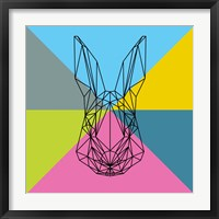 Framed Party Rabbit
