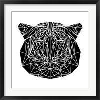 Framed Black Tiger