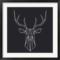 Framed Deer Polygon
