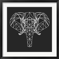 Framed Elephant Polygon