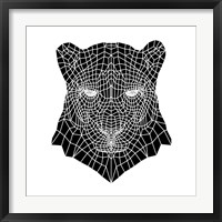 Framed Panther Head Mesh