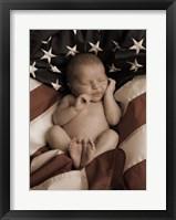Framed Patriotic Baby