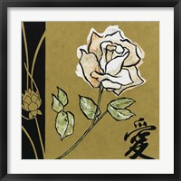 Asian Rose Framed Print