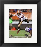 Framed Josh McCown 2015 Action
