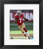 Framed Colin Kaepernick 2015 Action