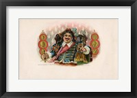 Framed Vintage Cigar Label II