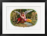 Framed Vintage Cigar Label V