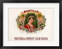Framed Bustillo