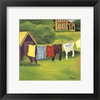 Framed Laundry Monhegan