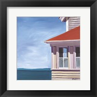 Framed Lightkeepers House