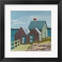 Framed Willard Beach