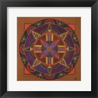 Framed Heart And Soul Mandala