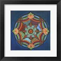 Framed Peace Mandala