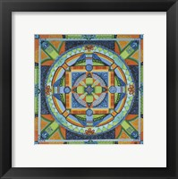 Framed Happiness Mandala