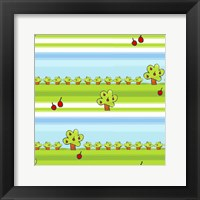 Framed Apple Orchard