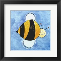 Framed Bumble Bee