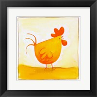 Framed Chicken