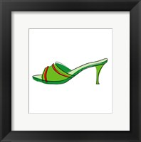 Framed Green Sandal 2