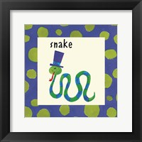Framed Snake with Border