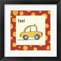 Framed Taxi with Border