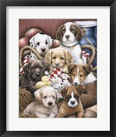 Framed Puppy Pals