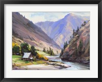 Framed Along The Salmon River
