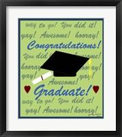 Framed Graduate