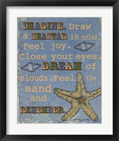 Seastar Framed Print