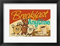 Framed Breakfast Anytime