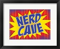 Framed Nerd Cave Comic