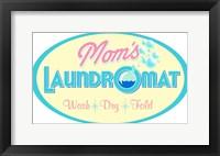 Framed Mom's Laundromat