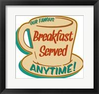 Framed Breakfast Served