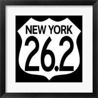 Framed NY Marathon