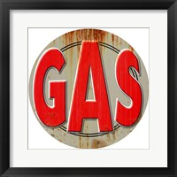 Framed Gas Distressed