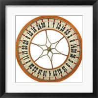 Framed Gambling Wheel - Wood