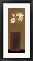Ivory Floral II Framed Print