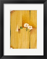 White Bloom 1 Framed Print