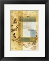 Golden Times I Framed Print