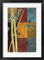 Bamboo Abstract 1 Framed Print