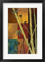 Bamboo Abstract 2 Framed Print
