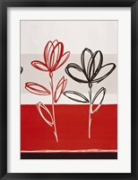 Red Abstract 5 Framed Print